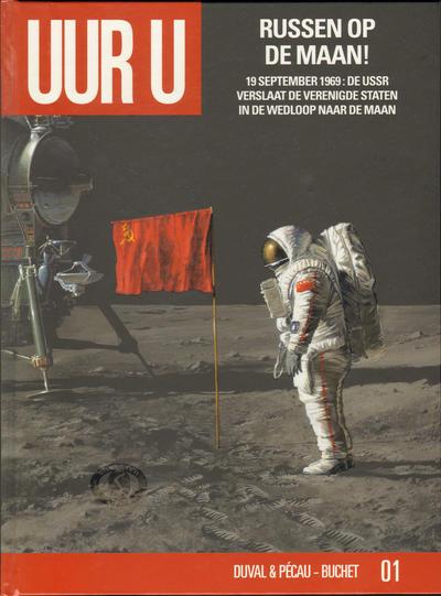 Cover for Uur U (Silvester, 2010 series) #1 - Russen op de Maan!