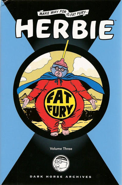 Cover for Herbie Archives (Dark Horse, 2008 series) #3