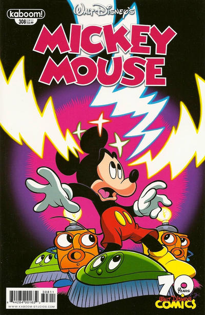 Cover for Mickey Mouse (Boom! Studios, 2011 series) #308