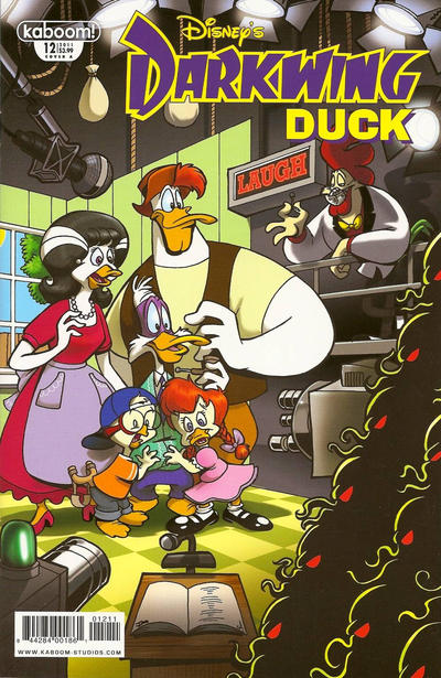 Cover for Darkwing Duck (Boom! Studios, 2010 series) #12 [Cover A]