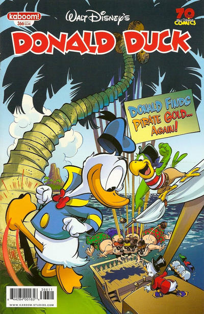 Cover for Donald Duck (Boom! Studios, 2011 series) #366