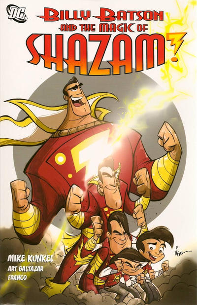 Cover for Billy Batson and the Magic of Shazam! (DC, 2010 series)