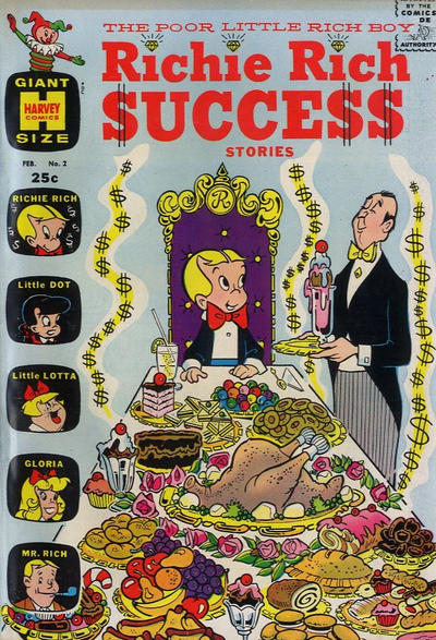 Cover for Richie Rich Success Stories (Harvey, 1964 series) #2