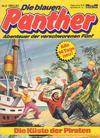 Cover for Die blauen Panther (Bastei Verlag, 1980 series) #2 - Die Küste der Piraten