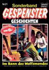 Cover for Gespenster Geschichten Sonderband (Bastei Verlag, 1986 series) #21