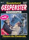 Cover for Gespenster Geschichten Sonderband (Bastei Verlag, 1986 series) #11