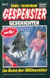 Cover for Gespenster Geschichten Sonderband (Bastei Verlag, 1986 series) #27