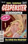 Cover for Gespenster Geschichten Sonderband (Bastei Verlag, 1986 series) #40