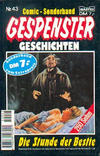 Cover for Gespenster Geschichten Sonderband (Bastei Verlag, 1986 series) #43