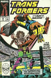 Cover for The Transformers (Marvel, 1984 series) #55 [Direct Edition]