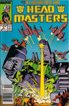 Cover for The Transformers: Headmasters (Marvel, 1987 series) #2 [Newsstand Edition]