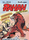 Cover for Rahan (Bastei Verlag, 1984 series) #2