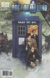 Cover for Doctor Who (IDW, 2011 series) #5 [Cover A]
