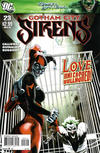 Cover for Gotham City Sirens (DC, 2009 series) #23