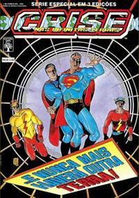 Cover Thumbnail for Crise nas Infinitas Terras (Editora Abril, 1989 series) #3