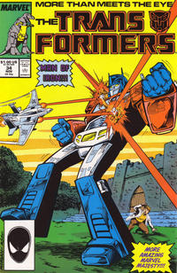 Cover Thumbnail for The Transformers (Marvel, 1984 series) #34 [Direct]