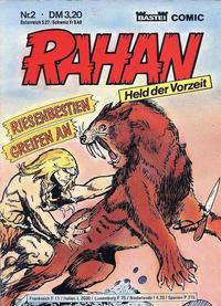 Cover Thumbnail for Rahan (Bastei Verlag, 1984 series) #2