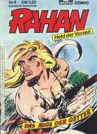 Cover Thumbnail for Rahan (Bastei Verlag, 1984 series) #4