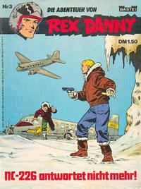 Cover Thumbnail for Rex Danny (Bastei Verlag, 1973 series) #3