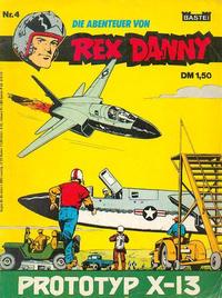 Cover Thumbnail for Rex Danny (Bastei Verlag, 1973 series) #4