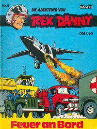 Cover Thumbnail for Rex Danny (Bastei Verlag, 1973 series) #5
