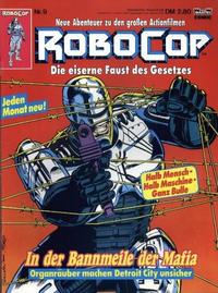 Cover Thumbnail for RoboCop (Bastei Verlag, 1990 series) #9