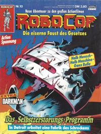 Cover Thumbnail for RoboCop (Bastei Verlag, 1990 series) #10