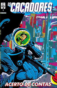 Cover for Os Caçadores (Editora Abril, 1990 series) #2