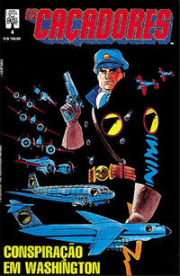 Cover Thumbnail for Os Caçadores (Editora Abril, 1990 series) #4