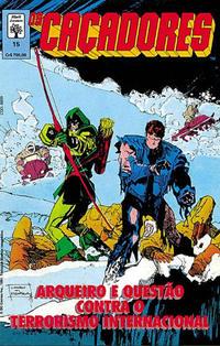 Cover Thumbnail for Os Caçadores (Editora Abril, 1990 series) #15
