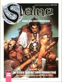 Cover Thumbnail for Bastei Comic Edition (Bastei Verlag, 1990 series) #72509 - Slaine 3: Im letzten Licht der Götterdämmerung