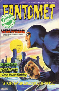 Cover Thumbnail for Fantomet (Semic, 1976 series) #7/1982