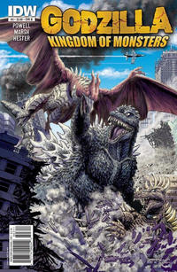 Cover for Godzilla: Kingdom of Monsters (IDW, 2011 series) #3 [Cover RI]