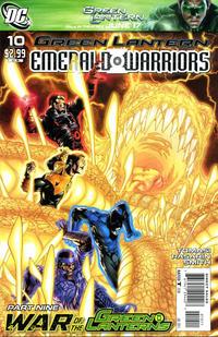 Cover Thumbnail for Green Lantern: Emerald Warriors (DC, 2010 series) #10