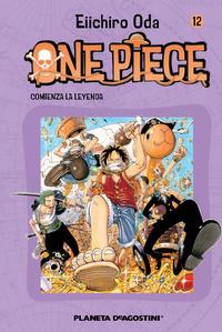 Cover Thumbnail for One Piece (Planeta DeAgostini, 2003 series) #12
