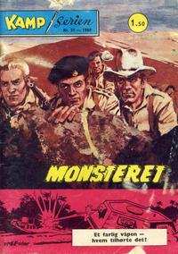 Cover Thumbnail for Kamp-serien (Serieforlaget / Se-Bladene / Stabenfeldt, 1964 series) #31/1968