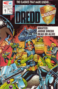 Cover Thumbnail for The Law of Dredd (Fleetway/Quality, 1988 series) #9