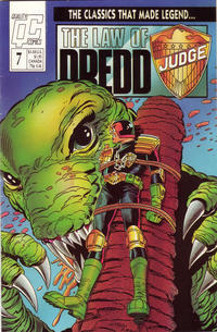 Cover Thumbnail for The Law of Dredd (Fleetway/Quality, 1988 series) #7