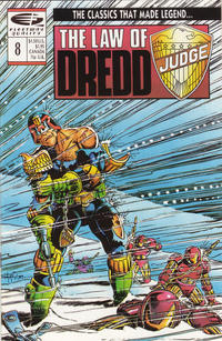 Cover Thumbnail for The Law of Dredd (Fleetway/Quality, 1988 series) #8