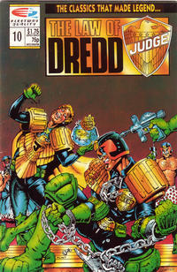 Cover Thumbnail for The Law of Dredd (Fleetway/Quality, 1988 series) #10