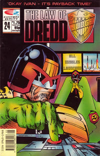 Cover Thumbnail for The Law of Dredd (Fleetway/Quality, 1988 series) #24