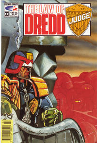 Cover Thumbnail for The Law of Dredd (Fleetway/Quality, 1988 series) #33
