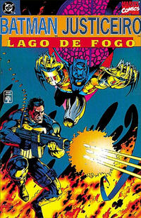 Cover Thumbnail for Batman & Justiceiro: Lago de Fogo (Editora Abril, 1995 series)