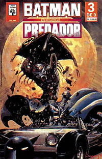 Cover Thumbnail for Batman versus Predador (Editora Abril, 1992 series) #3