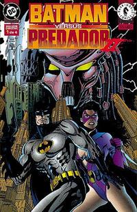 Cover Thumbnail for Batman versus Predador II (Editora Abril, 1996 series) #1