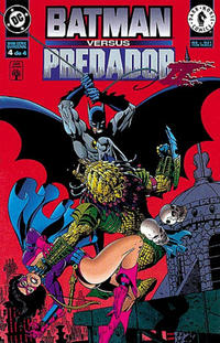 Cover Thumbnail for Batman versus Predador II (Editora Abril, 1996 series) #4