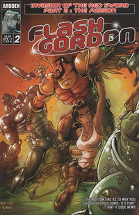 Cover Thumbnail for Flash Gordon: Invasion of the Red Sword (Ardden Entertainment, 2011 series) #2
