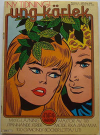Cover Thumbnail for Ung kärlek (Winthers, 1975 series) #1/1975