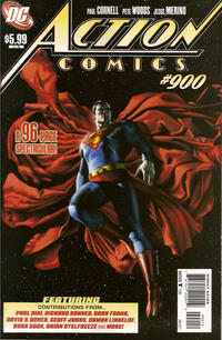 Cover Thumbnail for Action Comics (DC, 1938 series) #900 [Second Printing]