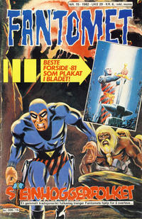 Cover Thumbnail for Fantomet (Semic, 1976 series) #15/1982
